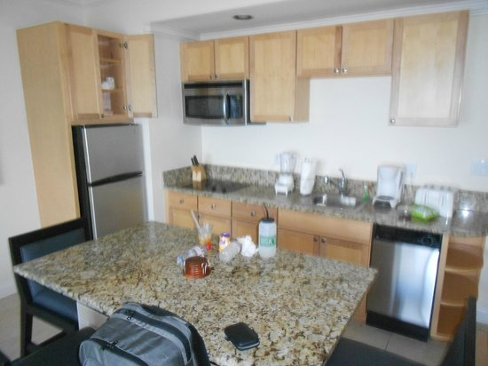 Alexandra Resort:                                     Inside Kitchen - 1 BR / 1 BA unit