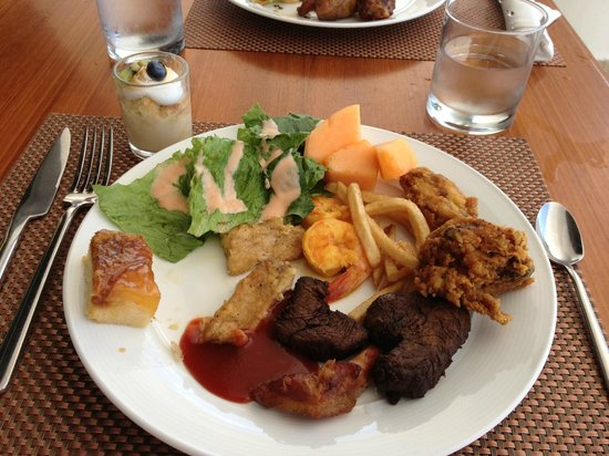The Westin Playa Bonita Panama:                   Lunch one day