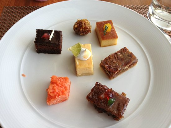 The Westin Playa Bonita Panama:                   my selection of desserts for lunch