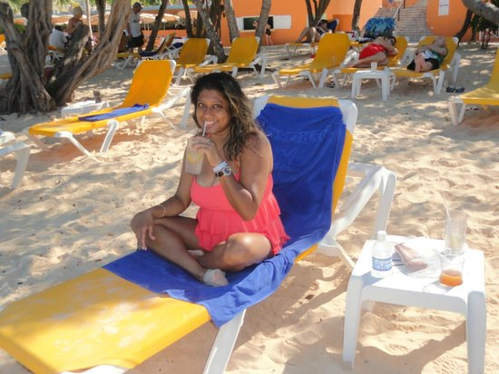 Iberostar Rose Hall Beach Hotel:                   Beach area
