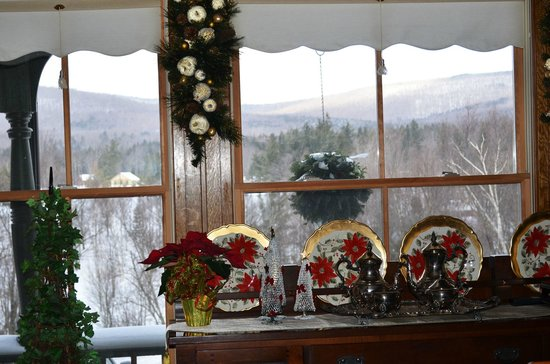 Haines Falls, NY:                   View from the dinning room