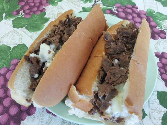 Brunswick, MD:                   King's steak and cheese sub!
