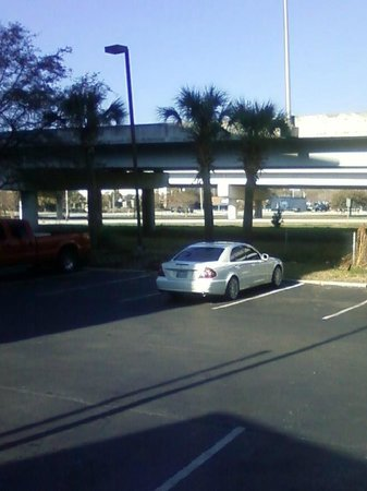 Comfort Inn Charleston:                   Free Parking.  I think we overslept this day, everyone was already gone but us