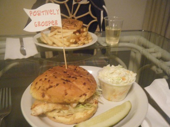 Beachview Inn:                   Take out from Frenchy's Restaurant