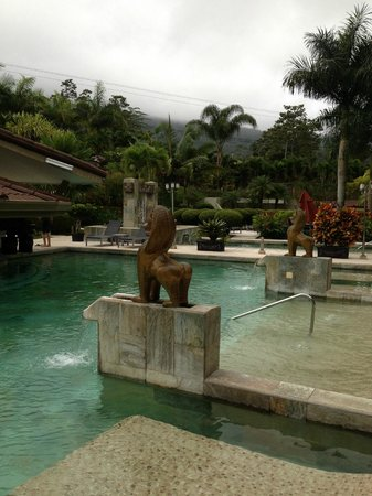 Hotel Royal Corin: Hot-spring pools - lovely