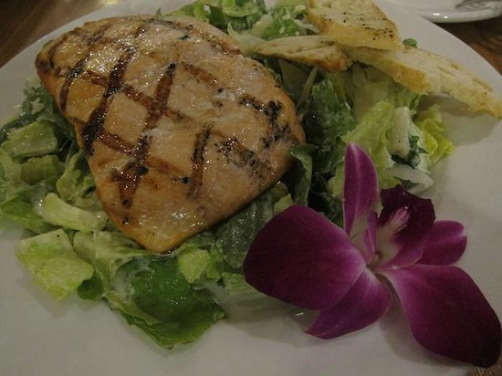 Four Points by Sheraton Los Angeles International Airport: Salmon Dinner Entree