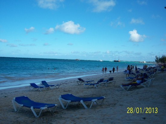 Barcelo Dominican Beach:                                     Plage