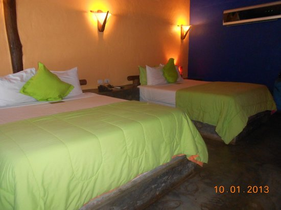 IKIN Margarita Hotel & Spa: Beds