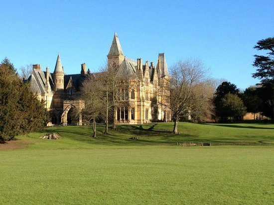 Ettington Park Hotel:                   Rear of the hotel