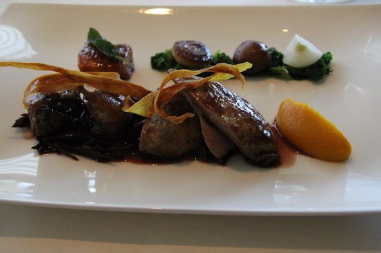 Great Milton, UK: Roasted quail