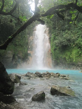 Los Lagos Hotel Spa & Resort:                   Rio Celeste Waterfalls