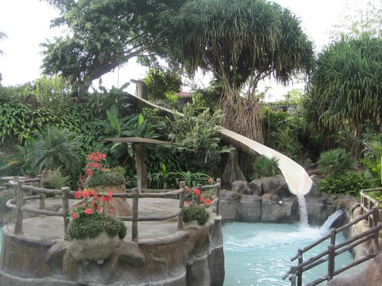 Los Lagos Hotel Spa & Resort:                   Hot Springs Pool Waterslide