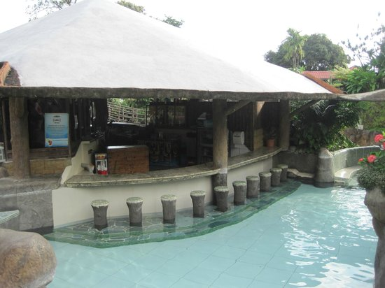 Los Lagos Hotel Spa & Resort:                   Hot Springs pool Swim up Bar