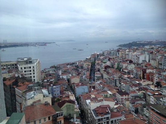 The Marmara Taksim: view