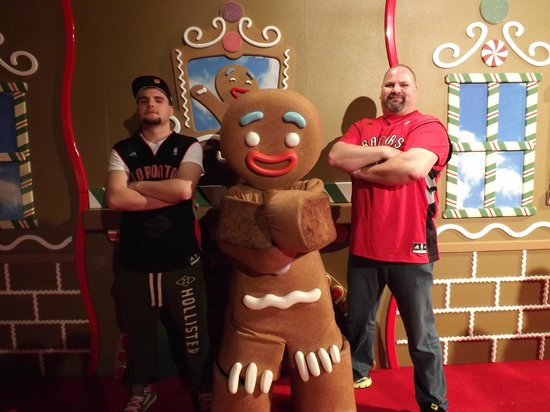 Gaylord Palms Resort & Convention Center: Gingy's meet-and-greet