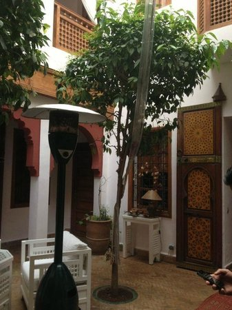 Riad SADAKA: Court yard area to