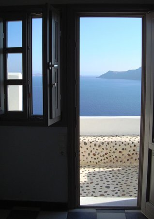 Filotera Suites: Even the view in the room was amazing
