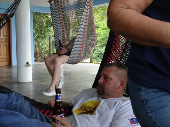 Ensuenos Del Mar S.A.: I told you I could make a chair out of that hammock