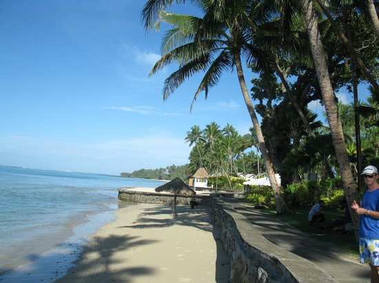 Fiji Hideaway Resort & Spa:                   Beachfront at Hideaway Resort