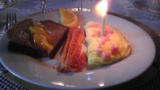 "Bernadine's Stillman Inn:                   My ""Birthday Omelet"" :-)"