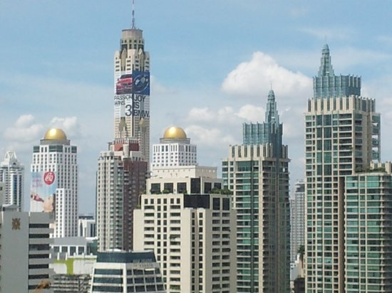 Plaza Athenee Bangkok, A Royal Meridien Hotel:                   View from the Window