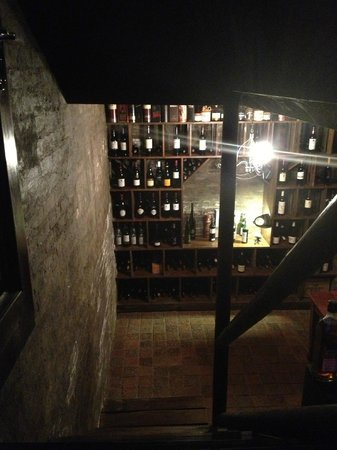 Hitgeheim Country Lodge:                   Vine cellar