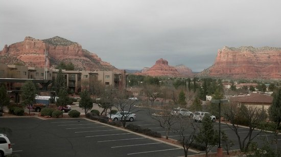 Hilton Sedona Resort at Bell Rock:                   Balcony view