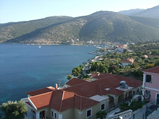 Agia Efimia, Grecja:                   View from our balcony