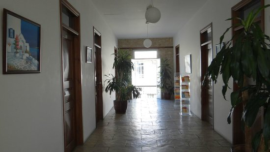 Alkisti City Hotel: The corridor on the first floor