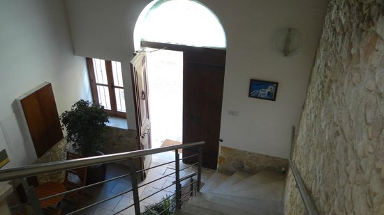 Alkisti City Hotel: The entrance interior