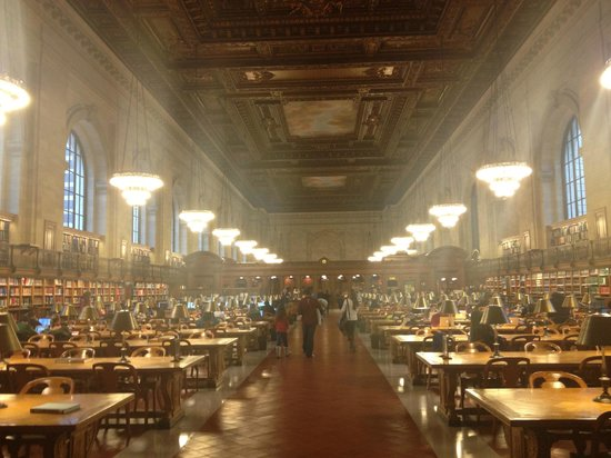 Langham Place, Fifth Avenue: NY library