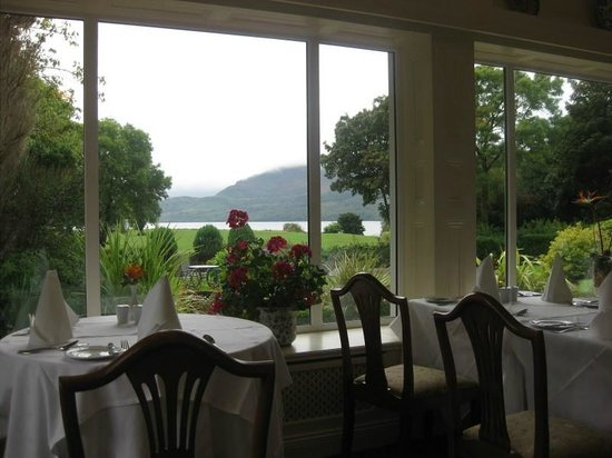 Loch Lein Country House: View from the Dining Area