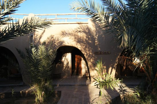 La Rose Du Desert: Hotel`s entrance