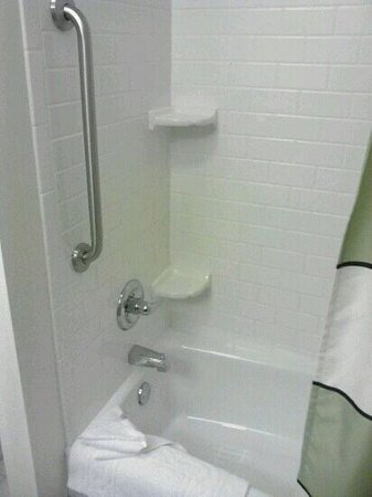 Fairfield Inn & Suites by Marriott - Louisville East:                   This is the most sparkly shower I have seen in my life!