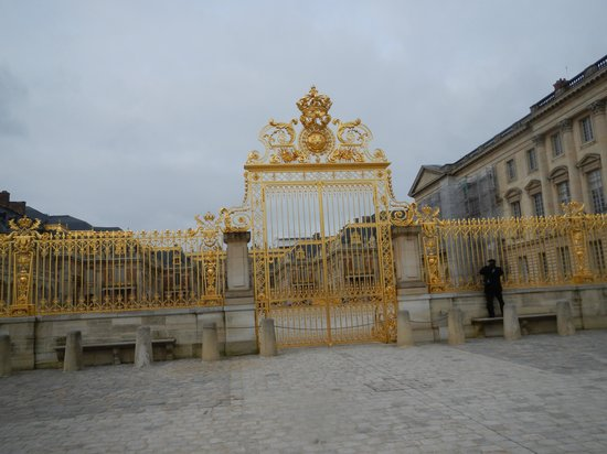 Golden Gates of Versailles Versailles Golden Gates