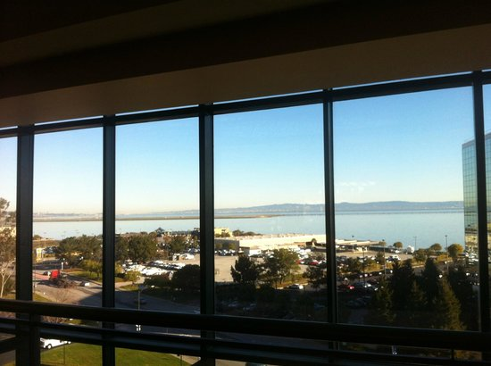 Hyatt Regency San Francisco Airport - Burlingame:                   The view on the airport/bay