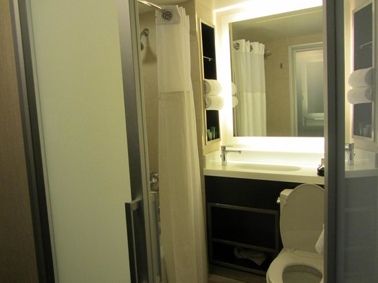 Bathroom With French Glass Doors Picture Of Hilton San Francisco Union Square San Francisco
