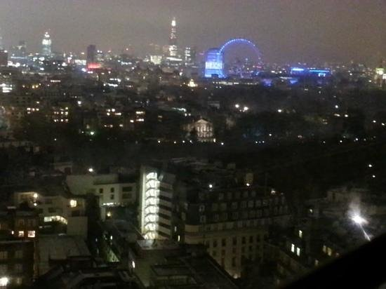London Hilton on Park Lane:                   view from 2022