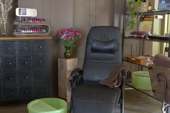 Quechee, VT: Pedicure station