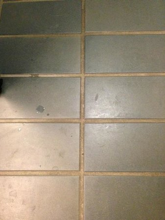 Aloft Arundel Mills:                   Nasty dirty grout and tile, bring shower shoes