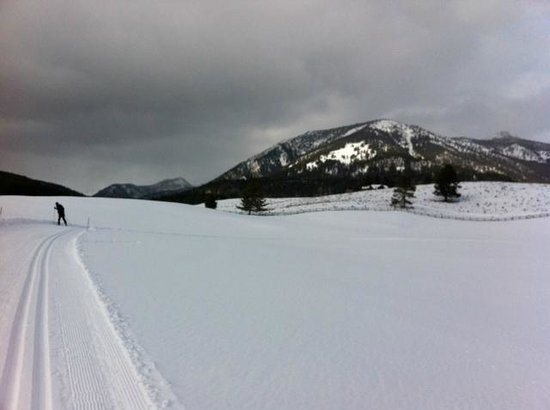 Lone Mountain Guest Ranch:                   Beautiful ski trails