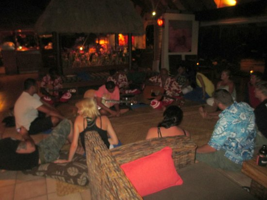 Tokoriki Island Resort:                   Kava Night