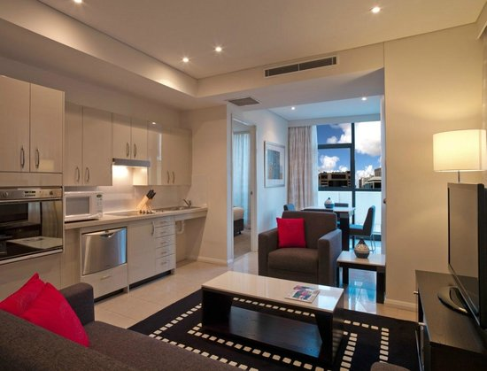 Meriton Serviced Apartments Pitt Street: Studio Apartment