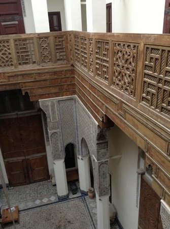 Riad Dar Bensouda:                   beautiful interior
