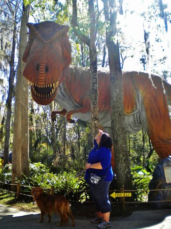 Dinosaur World:                   The detail on these dinos has to be seen in person to be belived -- awesome!