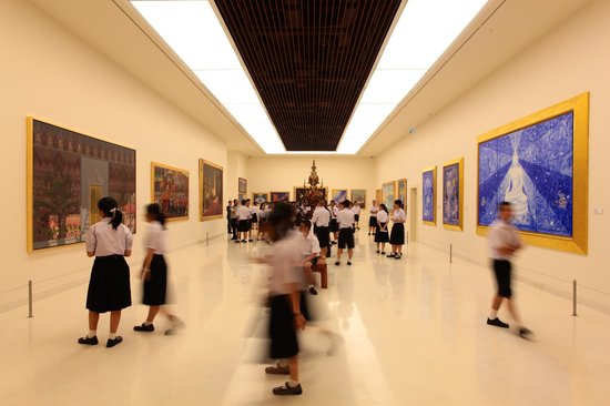 Student Group - Picture of Museum of Contemporary Art (MOCA), Bangkok - TripA...