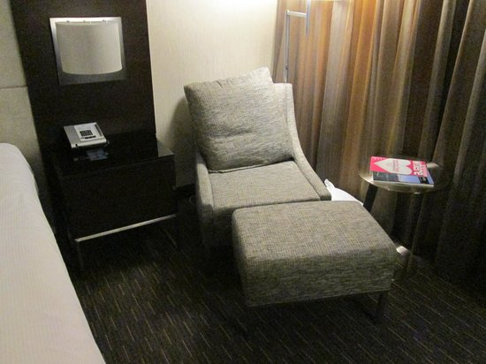 Hilton San Francisco Union Square:                                     Chair in Room 1664, Tower 3