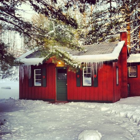 Ellis Lake Resort:                                     Our Elm Cabin
