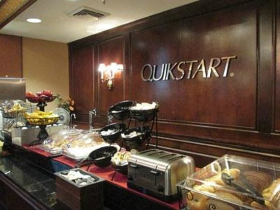 "Drury Inn & Suites New Orleans:                   The breakfast ""Quickstart"""