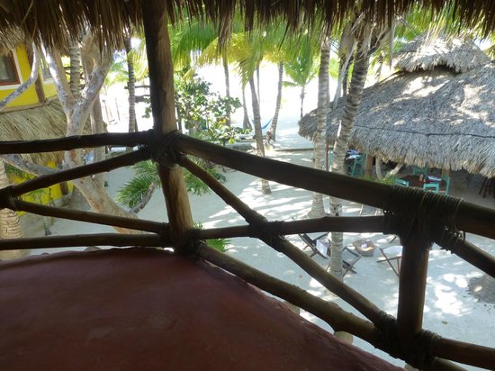 Holbox Hotel Mawimbi: Our terrace